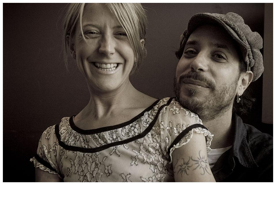 Danny Schmidt & Carrie Elkin at the Abington Hotel - October, 2013