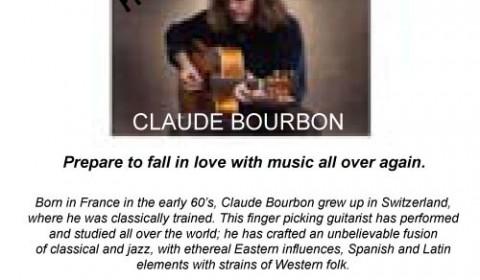 Claude Bourbon, 24th August , 2013