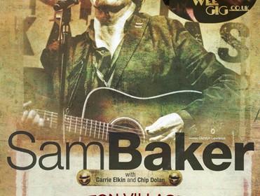 Sam Baker, 14th November, 2014